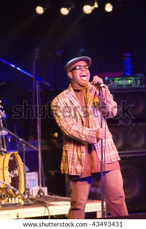 BUDAPEST - NOVEMBER 26: Living Colour Band performs on stage at Diesel Club on November 26, 2009 in Budapest, Hungary.