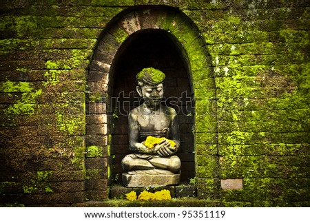 Budda statue. Indonesia - Bali. - stock photo