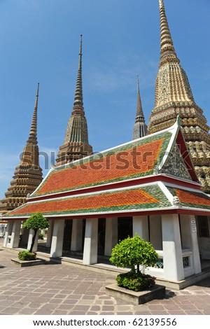 buddha palace bangkok - stock photo