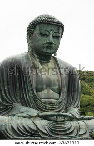 Buddha Statue Japan - stock photo