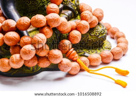 Buddhist rosary with buddha tree