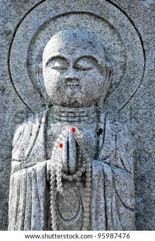 Buddhist Statue - stock photo