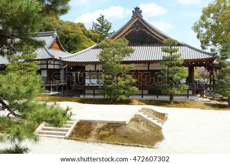 Buddhist temple in Kyoto