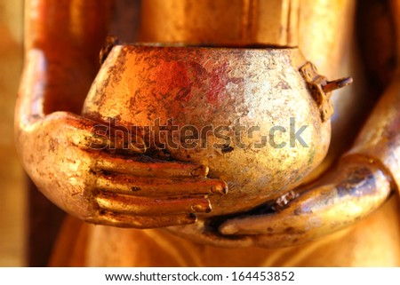 Buddhist temples in Chiang Mai Thailand (Cultural heritage of Thailand to the public owned) - stock photo