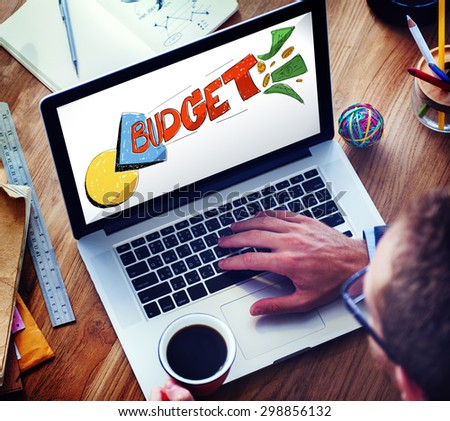 Budget Banking Expenses Planning Concept - stock photo