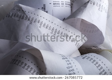 Budget, cost, vat. - stock photo