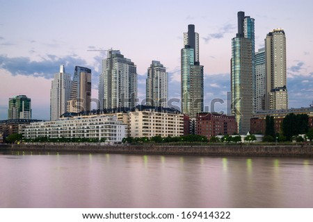 Buenos Aires Cityscape, Capital City of Argentina
