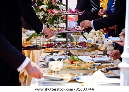 Buffet - stock photo