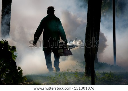 Bug Fumigation - stock photo