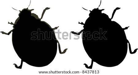 Bugs illustration - stock photo