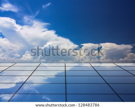Building and beautiful cloud