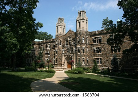 building at Lehigh University