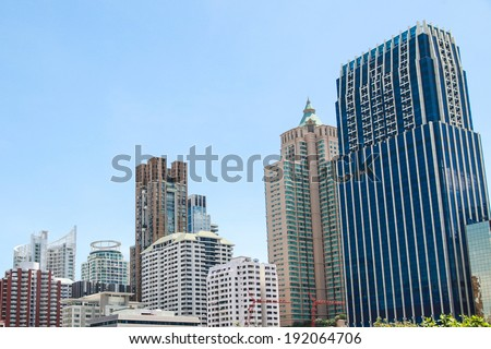 Building Cityscape. - stock photo