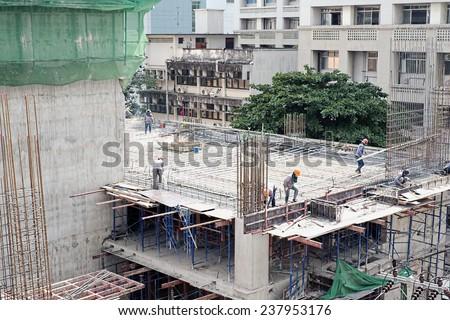 Building Construction - stock photo