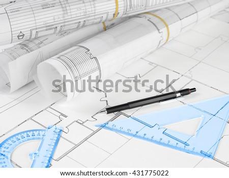 Building development - stock photo