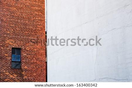 Building exterior in Manhattan, New York City. Urban living concept. - stock photo