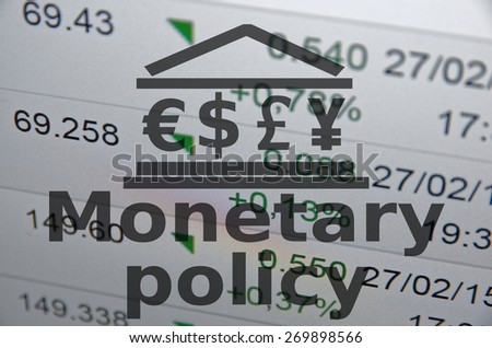 Monetary policy and cryptocurrency