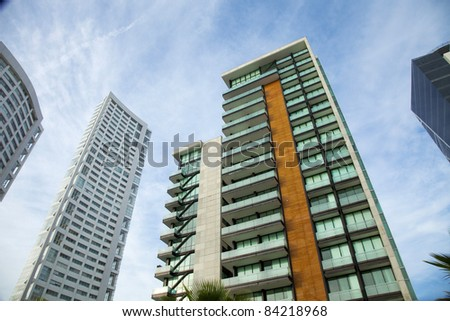 building in business - stock photo