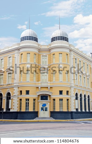 Building in Recife - Brazil - stock photo