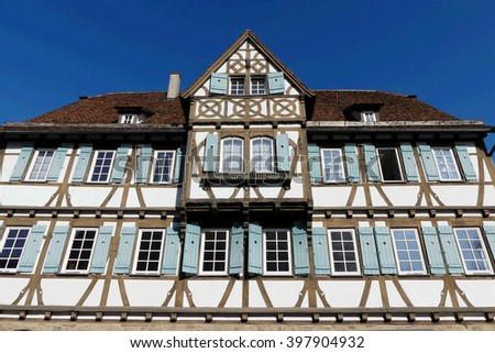 building of Maulbronn monastery,germany, - stock photo