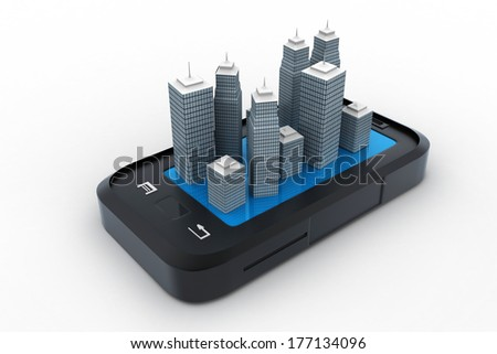 Building on the top of smart phone