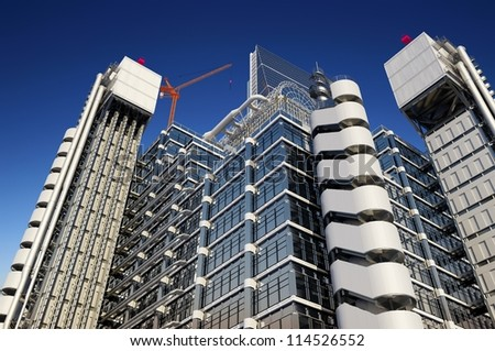 Building Structure Against Sky Stock Illustration 114526552 ...