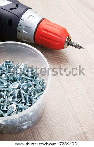 Building tools - stock photo