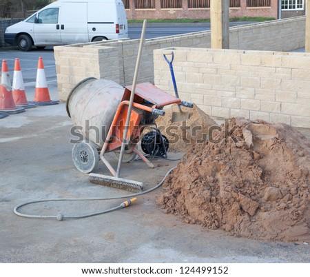 Building Work - stock photo