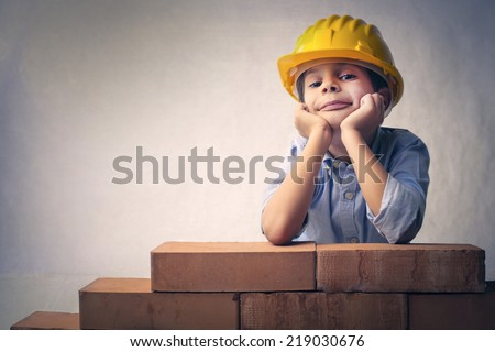 Building your future - stock photo