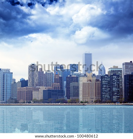 Buildings - stock photo
