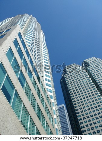Buildings and blue sky