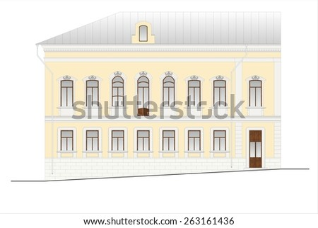 oval office president united states white stock vector. Black Bedroom Furniture Sets. Home Design Ideas