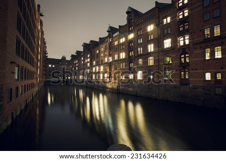 buildings in Hamburg Germany