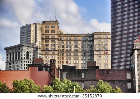 buildings in the city of Pittsburgh