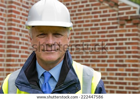 Buildings Inspector - stock photo
