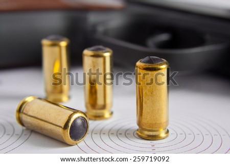 Bullet. - stock photo