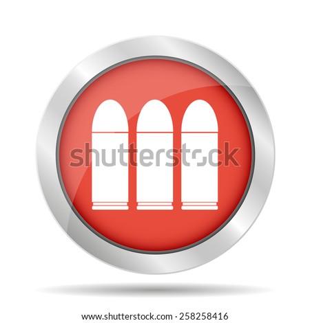 bullet icon.  - stock photo