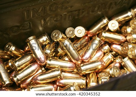 Bullets Stock Photo High Quality - stock photo