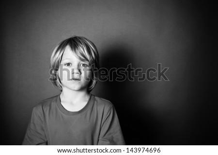 Bullied - stock photo