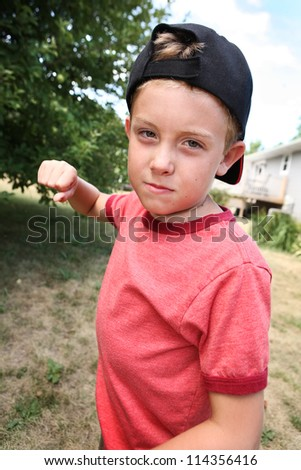 Bully - stock photo
