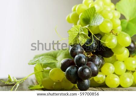 Bunch of grape - stock photo