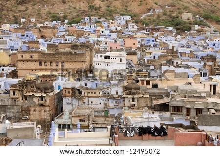 Bundi Village in Rajasthan - stock photo