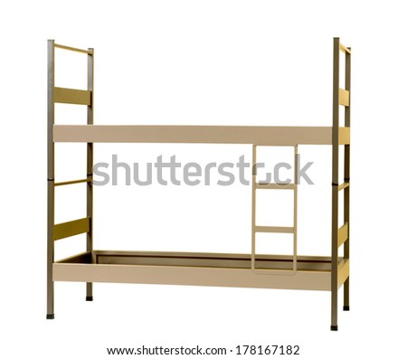 Bunk bed - stock photo