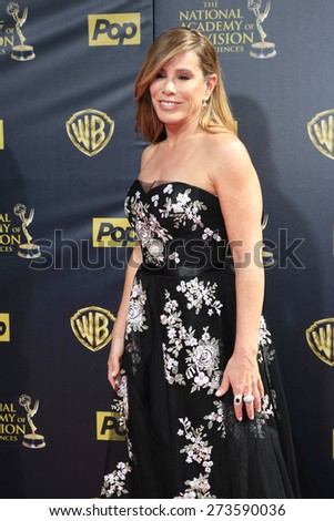 BURBANK - APR 26: Melissa Rivers at the 42nd Daytime Emmy Awards Gala at Warner Bros. Studio on April 26, 2015 in Burbank, California - stock photo