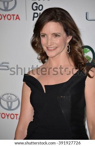 BURBANK, CA - OCTOBER 24, 2015: Kristin Davis at the 25th Annual Environmental Media Awards at Warner Bros. Studios, Burbank - stock photo