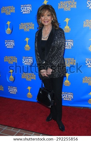 BURBANK - JUN 25: Dawn Wells at the 41st Annual Saturn Awards at The Castaway on June 25, 2015 in Burbank, California, - stock photo