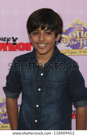 BURBANK - NOV 10: Karan Brar at the premiere of Disney Channels' 'Sofia The First: Once Upon a Princess' at Walt Disney Studios on November 10, 2012 in Burbank, California