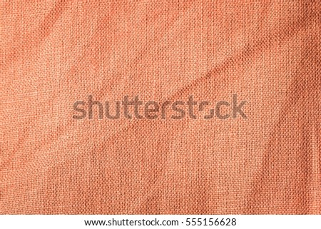 Burlap Background In Close Up Texture Of Color Canvas Useful As