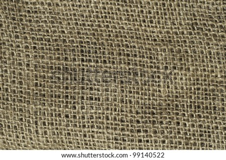 burlap background with great texture - stock photo