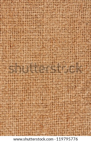 burlap closeup - stock photo